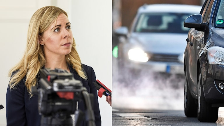Trafik,dieselbil, Jessica Rosencrantz