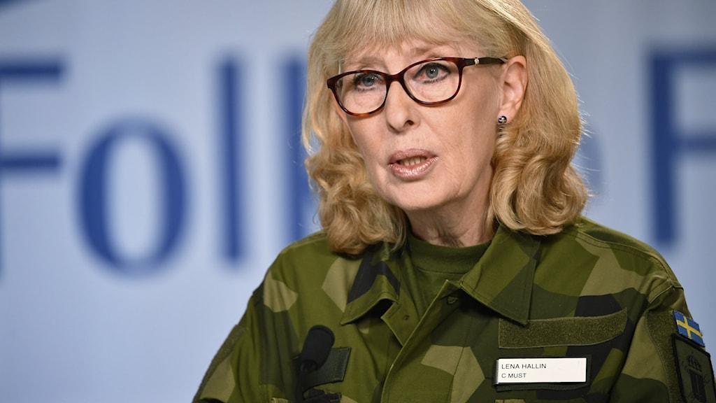 Mustchefen Lena Hallin