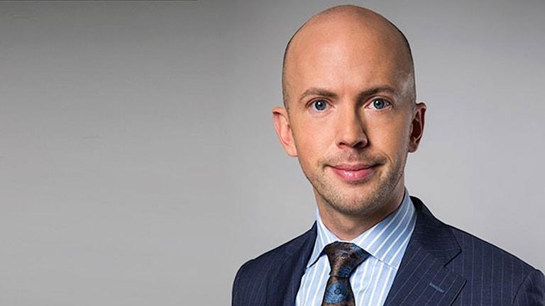 State secretary Erik Bromander.