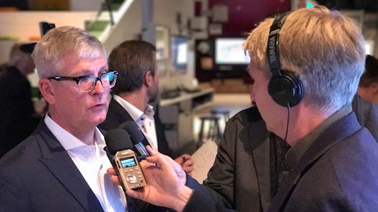 Intervju med Ericssons nye vd Börje Ekholm.