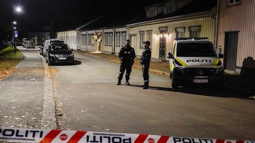 Politiaksjon i Kongsberg