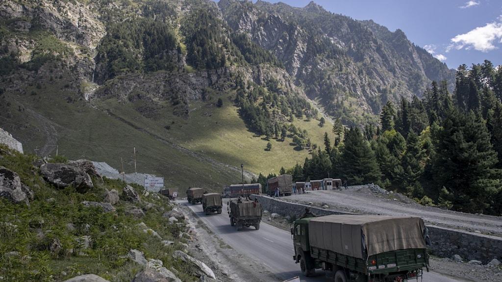 India Kashmir China