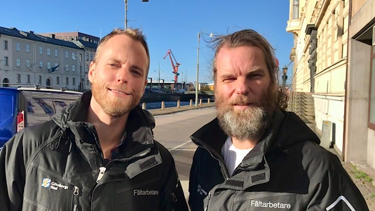 Kim Melin och Magnus Bergström