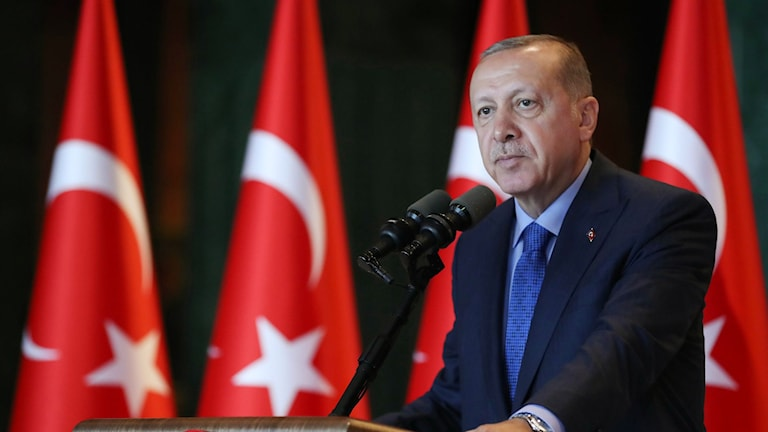Den turkiske presidenten Recep Tayyip Erdogan.