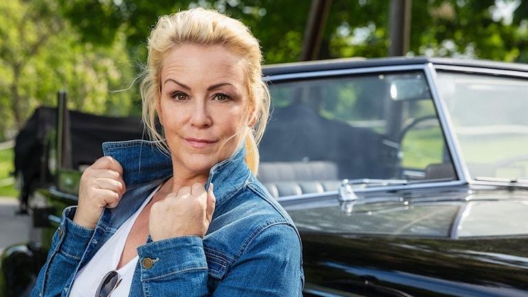 Komikern Karin Adelsköld
