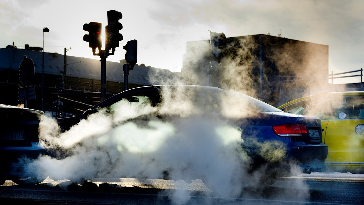 Avgaser från bilar