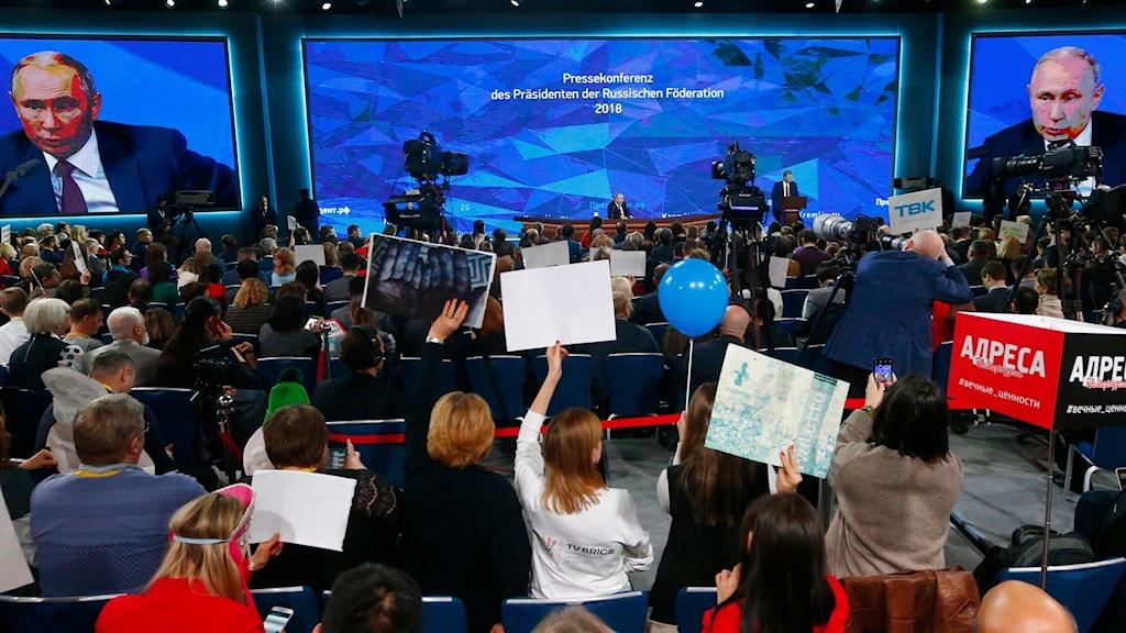 President Putins årliga presskonferens