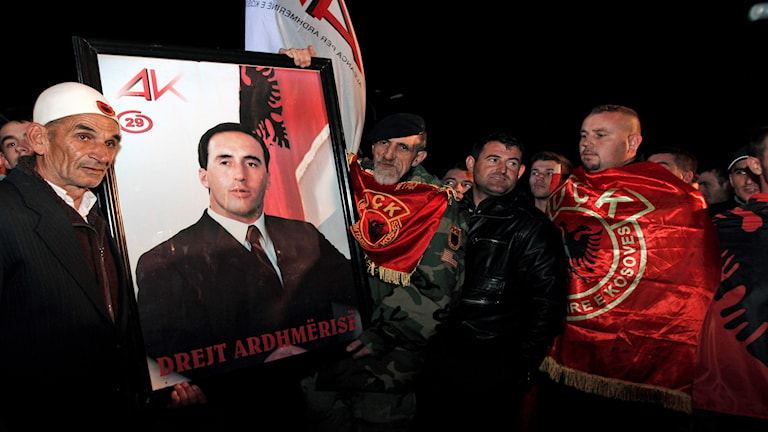 Kosovos tidigare premiärminister Ramush Haradinaj.