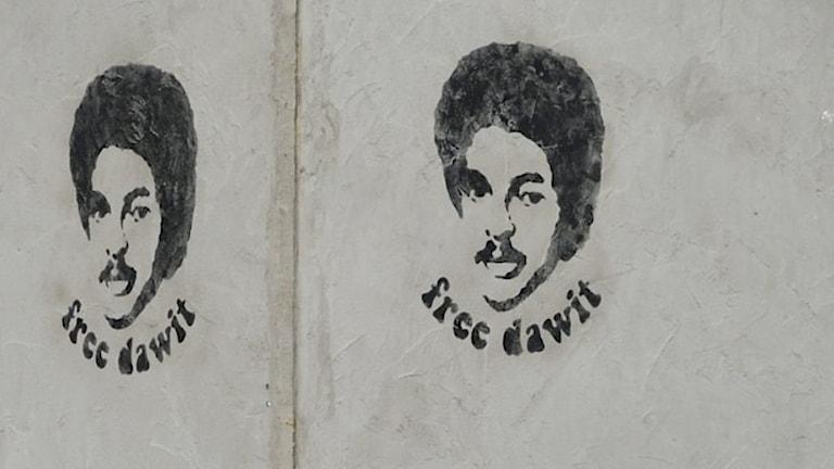 Bilder på Dawit Isaak