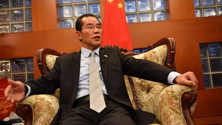 Kinas ambassadör Gui Congyou