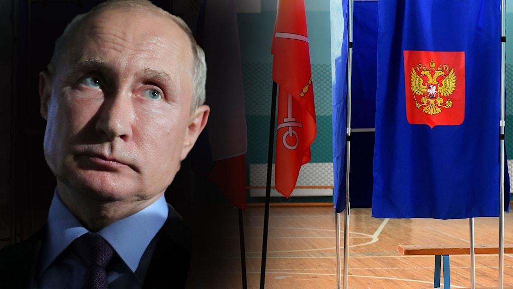 Bakslag för Putins parti i lokalvalet