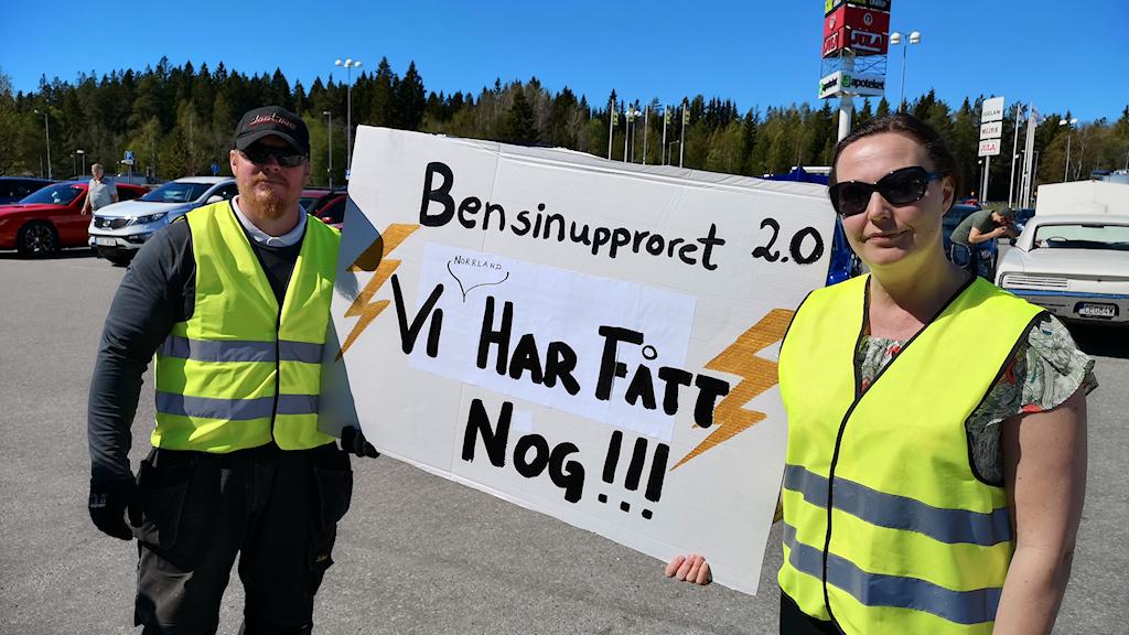 Mattias Konradsson och Ulrica Rutfors i Umeå
