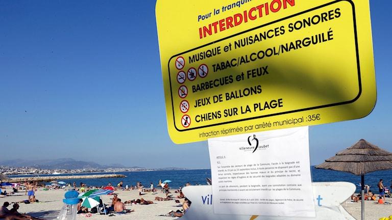 burkiniförbud, Frankrike, burkini, strand