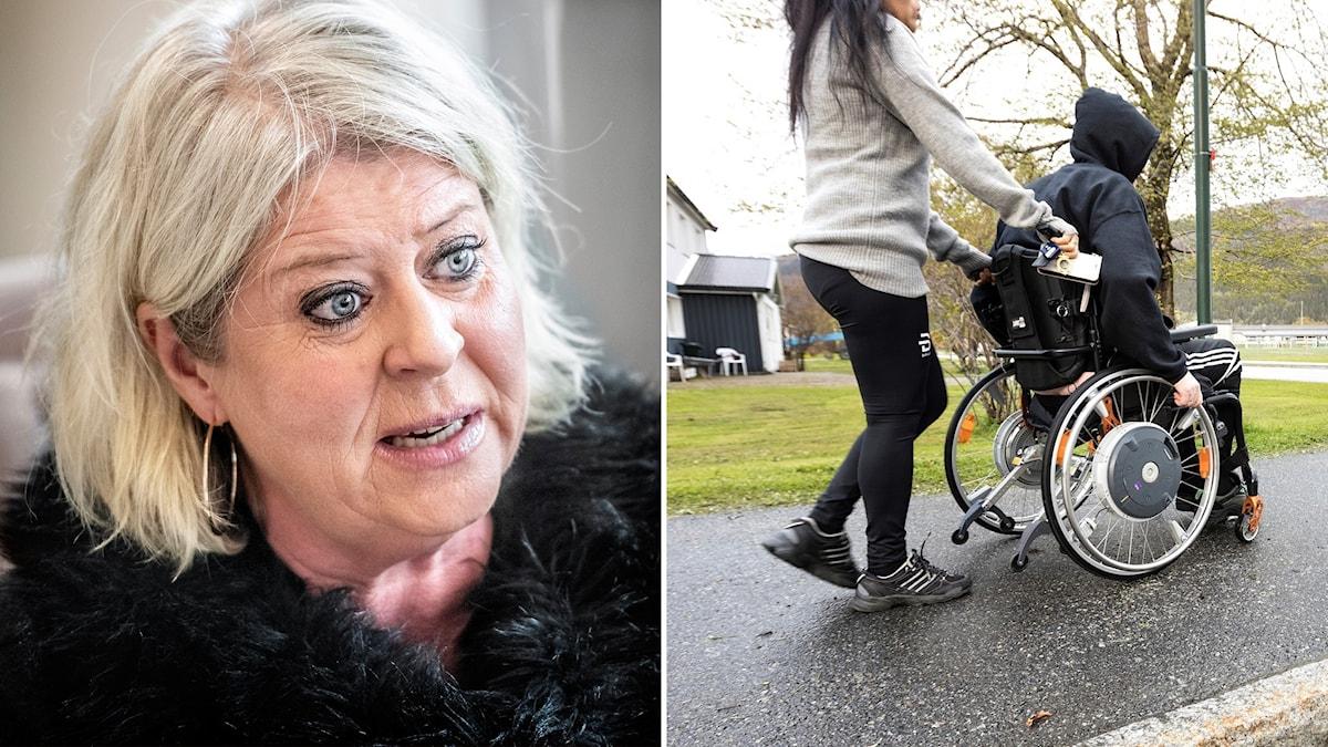 Moderaternas socialpolitiska talesperson, Camilla Waltersson Grönvall.