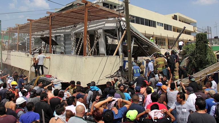 Mexiko jordbävning