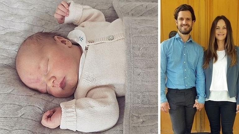 Prins Gabriel, prins Carl Philip och prinsessan Sofia