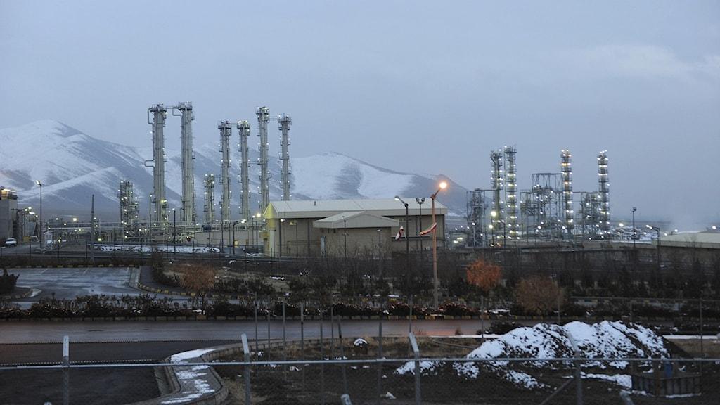 anläggning i Iran