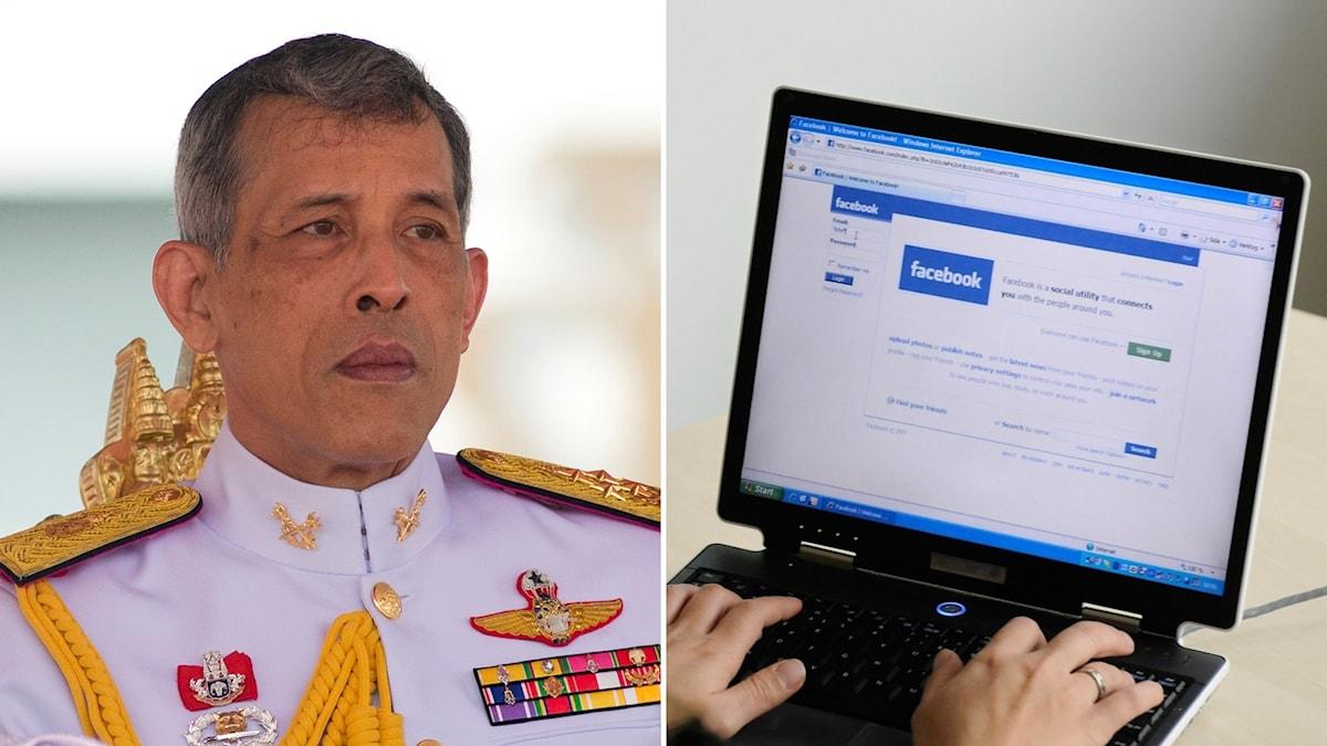 Thailand hotar Facebook med stämning
