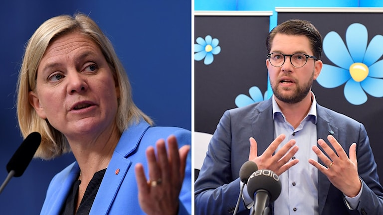 Arkivbild. Magdalena Andersson kommenterar SD:s valmanifest.