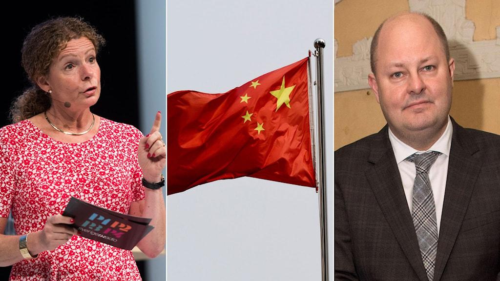 Cilla Benkö, Kinesisk flagga, Thomas Mattsson.
