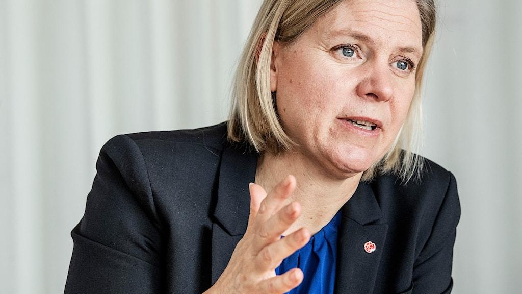 Magdalena Andersson, finansminister