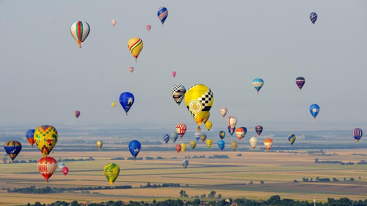 Genrebild på luftballonger.