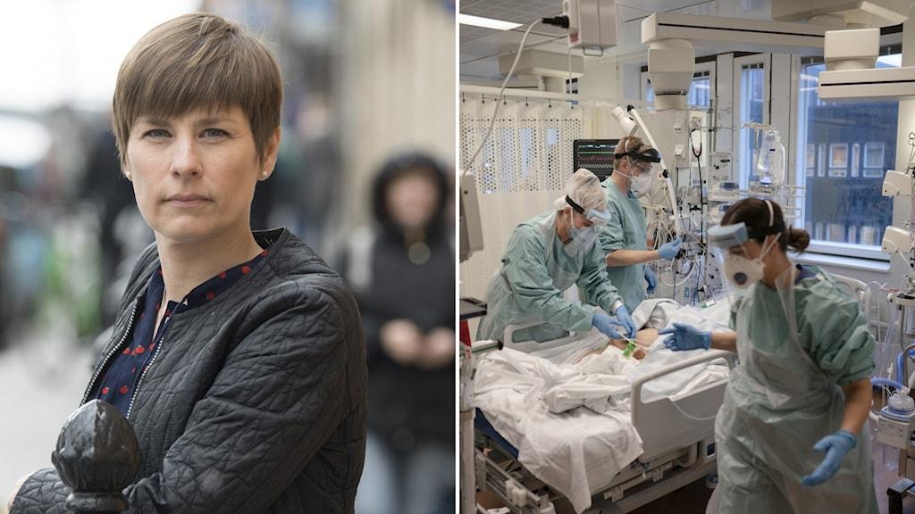 Läkarförbundets ordförande Sofia Rydgren Stale