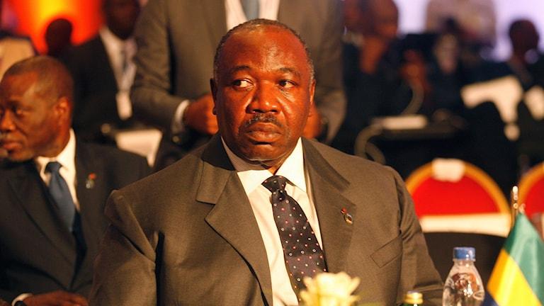 Gabons president Ali Bongo