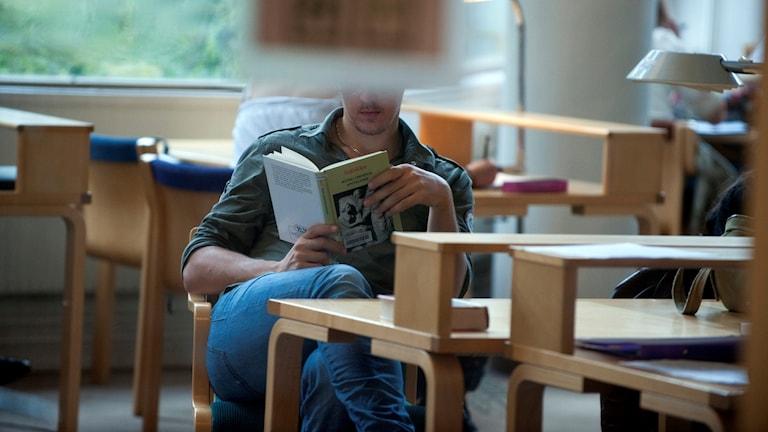 Student på Stockholms universitet