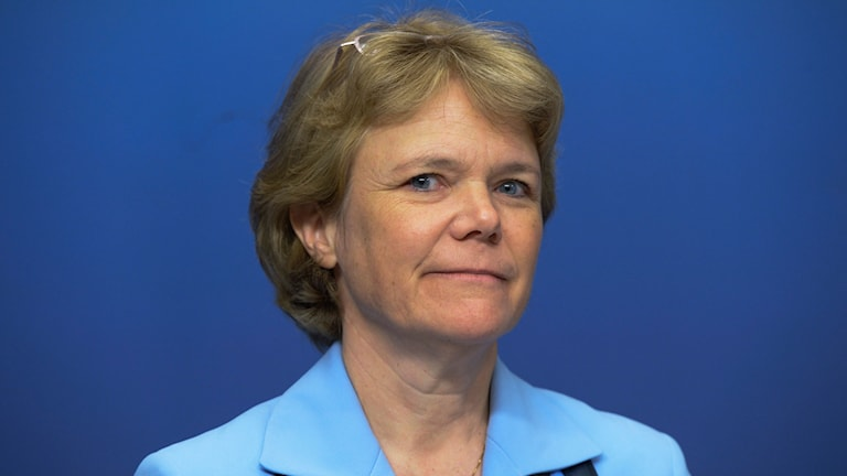 Universitetskanslern Harriet Wallberg