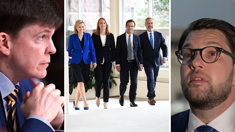 Jimmie Åkesson har meddelat att SD stödjer Alliansens kandidat till talman.