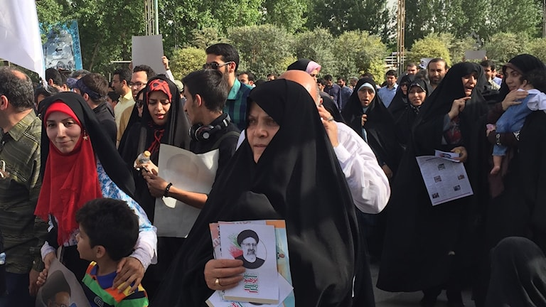 Iranska väljare.