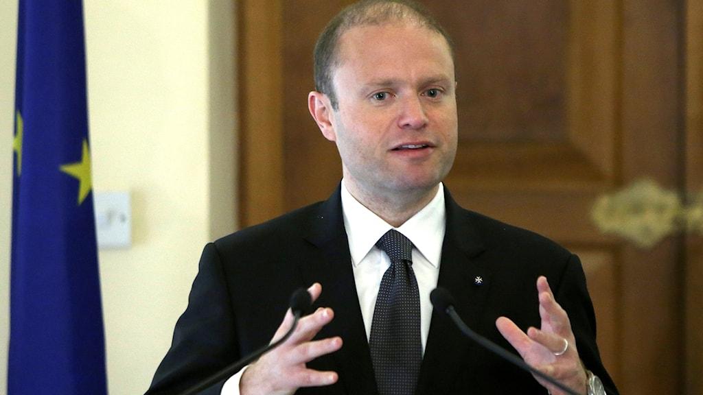 Maltas premiärminster Joseph Muscat