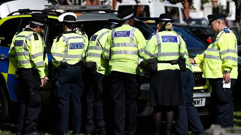 Poliser i London