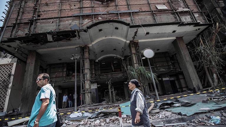 Flera döda i bilexplosion i Kairo