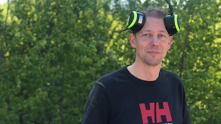 Thomas Håkansson, skogsentreprenör från Nybro.