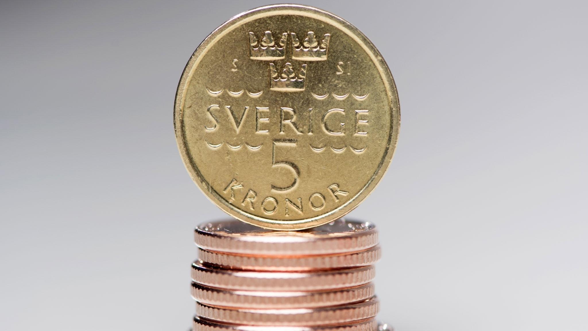 Ranta valuta kronan forsvagad