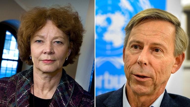Maria Leissner och Anders Kompass.