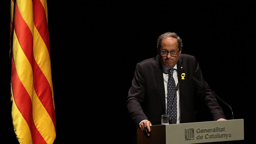Kataloniens regionpresident Quim Torra.
