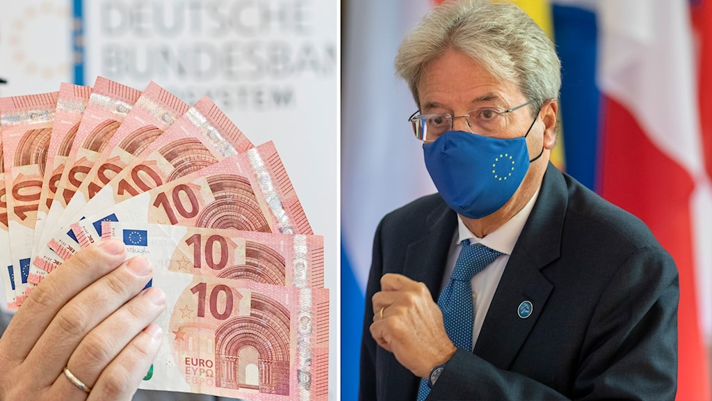 EU:s ekonomikommissionär Palolo Gentiloni.