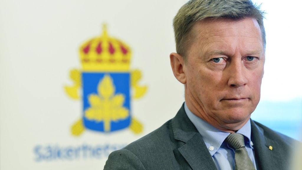 Säpochef Klas Friberg.