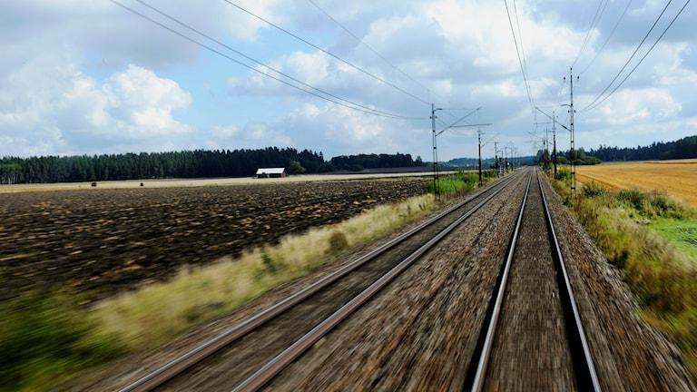 Järnväg. Foto: Henry Montgomery/TT