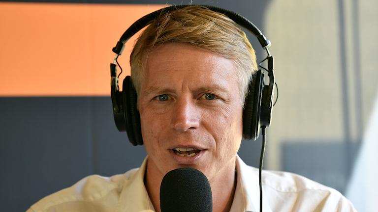 Miljöpartiets språkrör under Miljöpartiets dag som inleder Almedalsveckan 2019.
