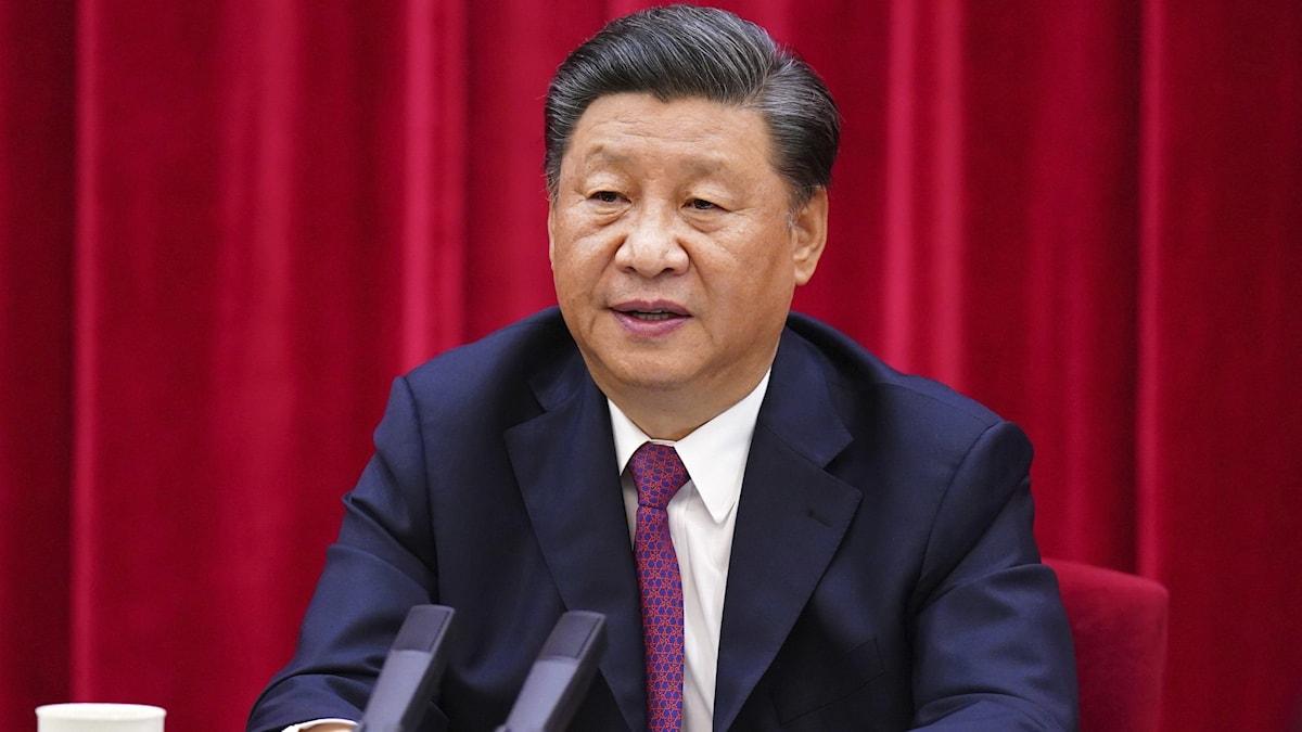 Generalsekreterare Xi Jinping