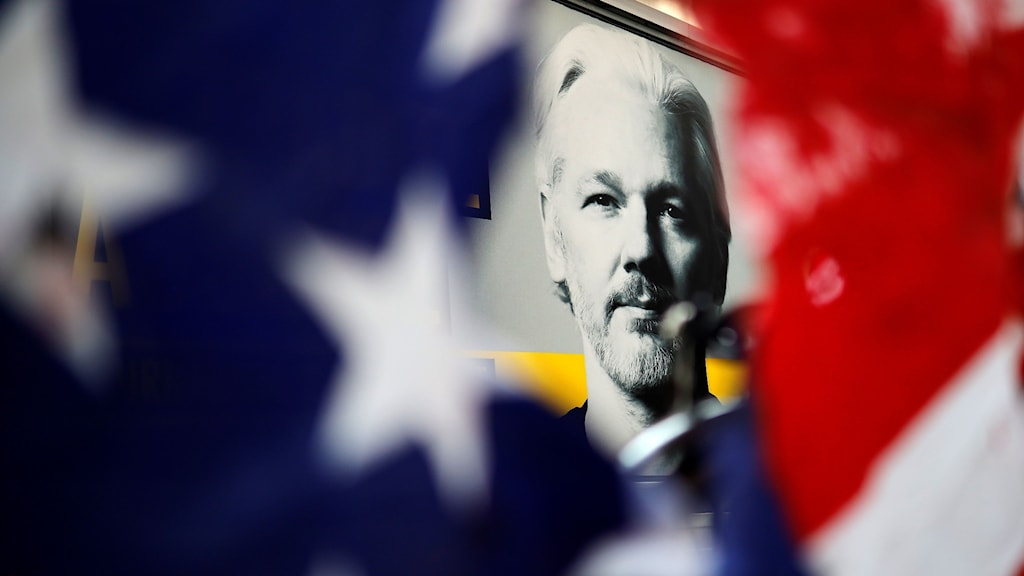 Bild på Wikileaksgrundaren Julian Assange.