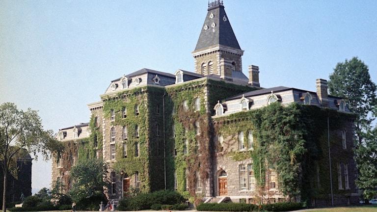 McGraw Hall, en av byggnaderna på Cornell-universitets campus.