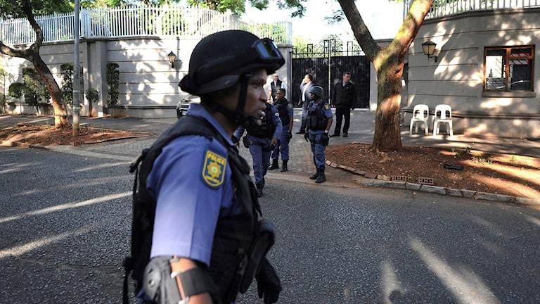 Poliser i Sydafrika