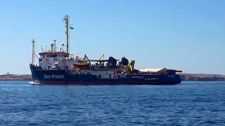 Fartyget Sea Watch 3