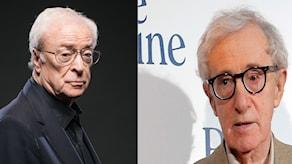 Michael Caine och Woody Allen.