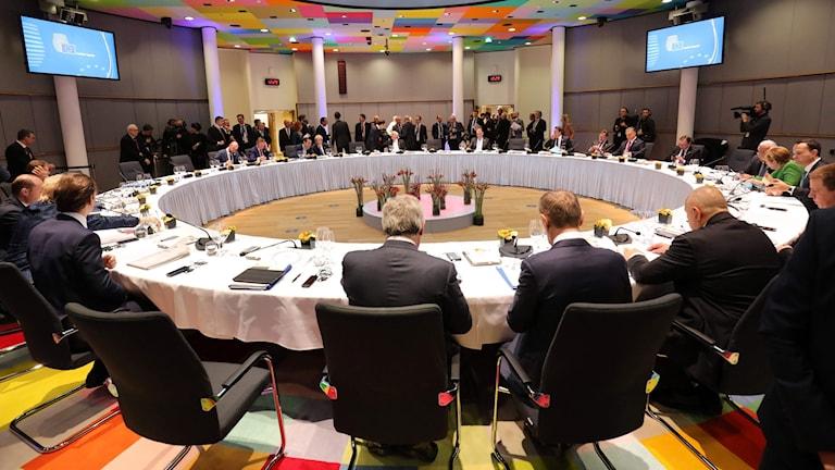 EU:s toppmöte i Bryssel